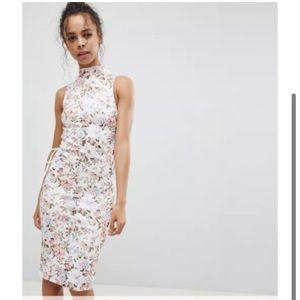 ASOS Petite Flora Midi Dress